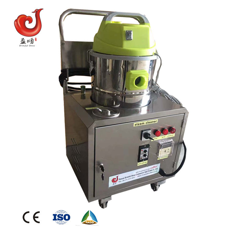 CE 3KW/4KW/6KW/12KW 6-15bar No Boiler Mobile Steam Car Wash Machine With Vacuum Cleaner