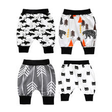 Top Sale Children Casual Shorts Animal Printed Infant Kids Boys Cotton Pants Clothes