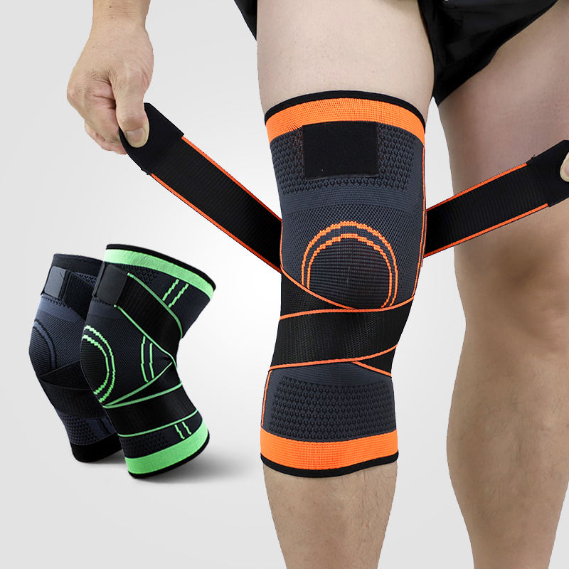 Ks-2002#Cheap Price Knee Wraps Powerlifting Knee Brace Support