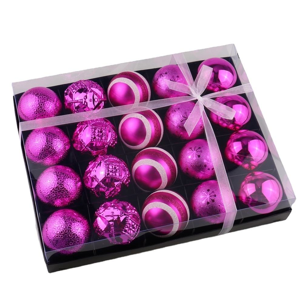 Hot Christmas gift, Christmas ball sets packed in gift box