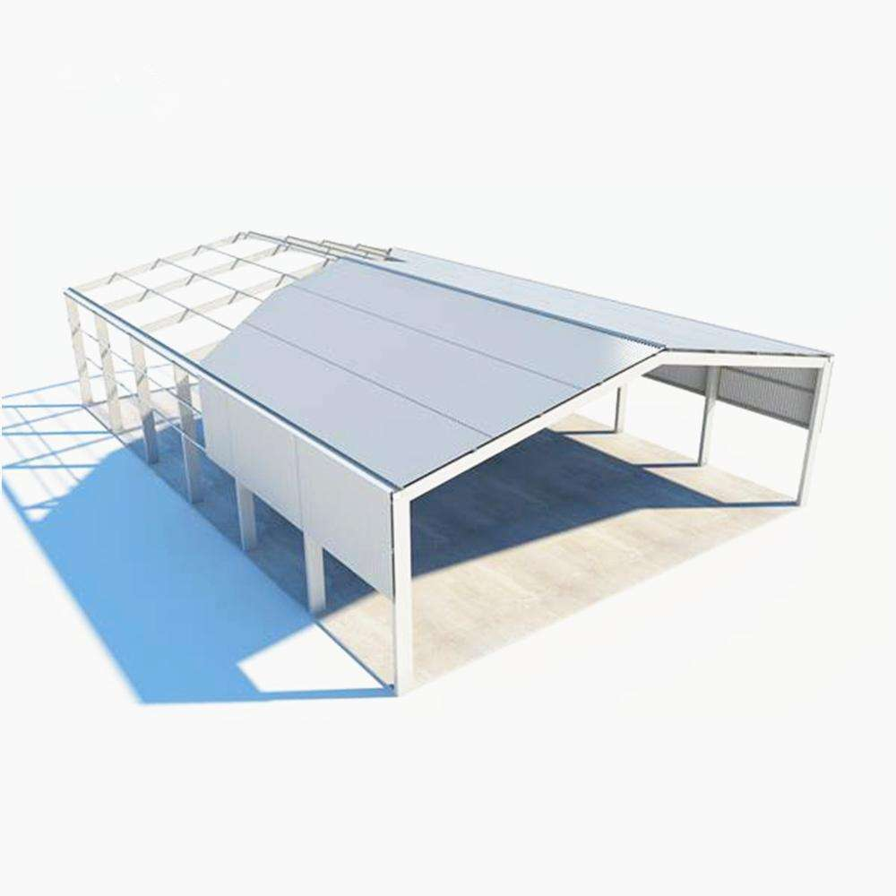 New design steel structure factory/warehouse
