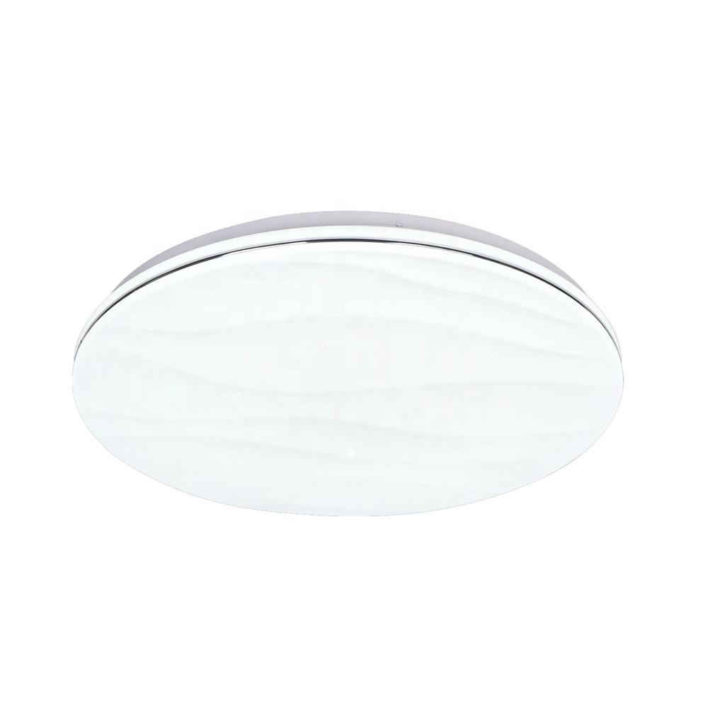 2.4g app 15.7-Inch 36W led recessed ceiling light waterproof Ip44 for bathroom hallway hotel remote control led ceiling light