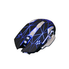 Promo Latest 2.4G Rechargeable Wireless USB Optical Gaming Mouse, Computer Wireless Charging Mouse for laptop