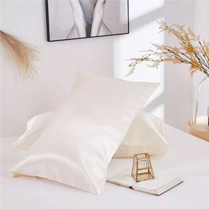 High Quality Silky Home Decoration Colorful Bedroom Satin Pillowcase