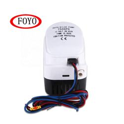 Foyo Brand Submersible Boat Bilge Water Pump not Solar 12v dc 750 GPH Non-Automatic Bilge Pump for Boat and Yacht and Kayak