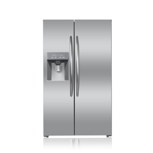 No Frost Large Capacity French Door Stainless Steel Refrigerator