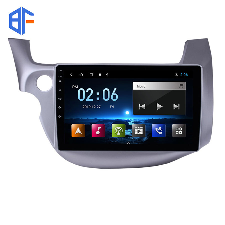 Android 9 2 GO FM radio 10 pouces pour Honda Fit Jazz 2007 2008 2009 2010 2011 <span class=keywords><strong>2012</strong></span> 2013 avec GPS Bluetooth WIFI Mirrorlink