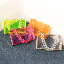Wholesale Custom Design Evening Party Bags Clear Acrylic Clutches and Purses