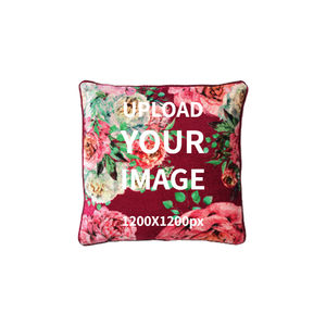 manufacturing customized top quality luxury sofa velvet cushion covers with zipper