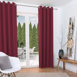 China Design Beautiful Black Drapes Window Curtains for Living Room