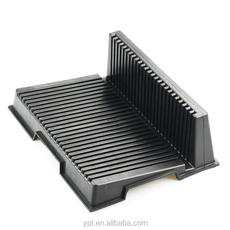 ESD PCB Rack Antistatic Storage Rack/ L Type PCB Tray Anti-static Components Rack /265*205*95MM ESD PCB Circulation Rack
