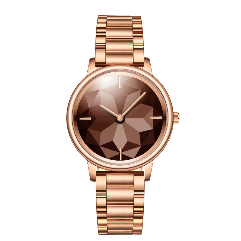 Women Quartz Watches Square Lotus Design Dial Fashion Stainless Steel Ladies Watch Clock montre femme