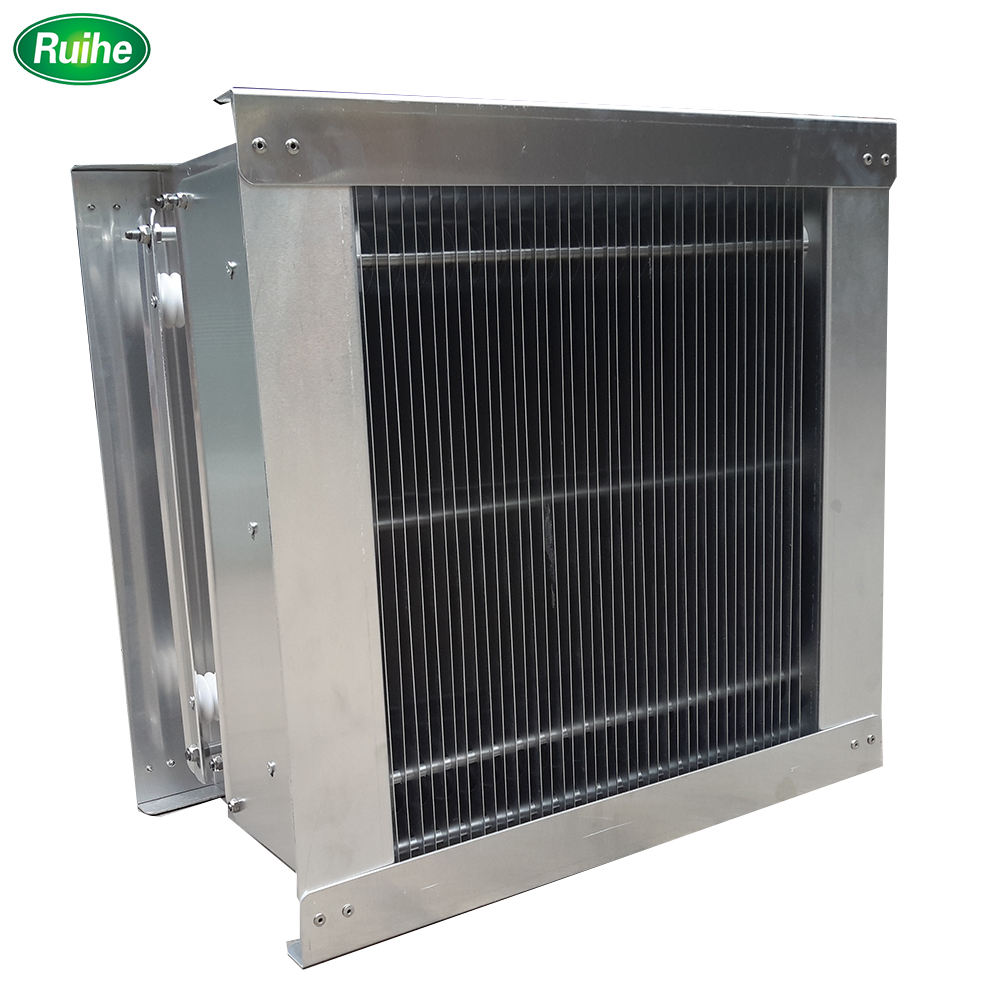 Kolektor Cell Filter untuk Dapur Komersial Exhaust Air Scrubber Elektrostatik Precipitator