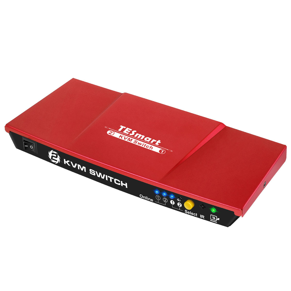 4K 2 port Auto USB Hdmi Kvm Switch in Kvm 2 in 1 out Auto Switch