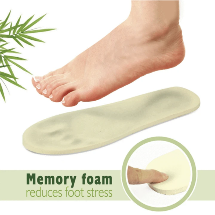 For Indoor [ Mens Slippers ] Slippers For Men Breathable Home Bamboo Anti Fatigue Lady Memory Foam Relax Mens Gel Indoor Slippers For Foot