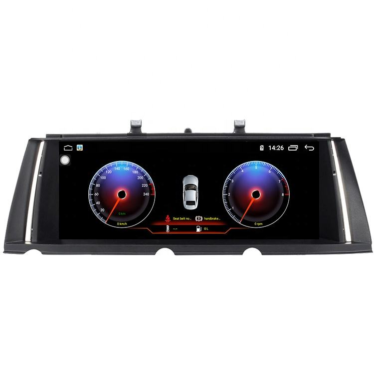 IOKONE 4K Anti Grale Screen 2 Din Android radio 9.0 Auto Carplay Car audio For BMW F01/F02 2009 2010 2011 2012 2013 2014 2015
