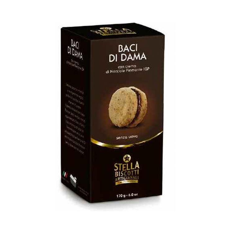 Baci Di Dama 170 Gr Grain Product Good Taste Cookies Biscuit Italy