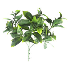 MZ187007C1  decorative green leaves artificial flower