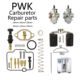 1 Set PWK 21 24 26 28 30 32 34 mm KEIHIN KOSO Motorcycle Carburetor Carburador Repair Kit With Spare Jets New