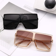 12332 Superhot Eyewear 2020 Trend Design Oversize Men Women Sunglasses Cool Square Flat Top UV400 Shade Nice Daily Accessory