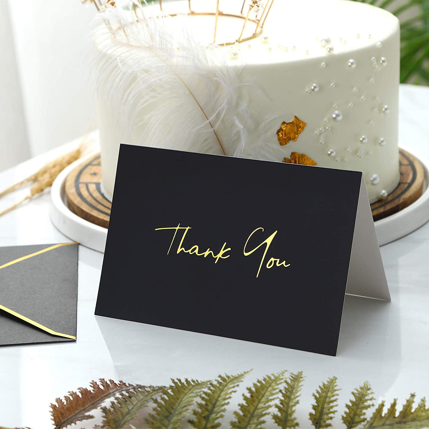 custom own design greeting card envelopes card stock paper thank you card with envelop
