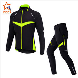 Wholesale Long Sleeve Cycling Jersey And Pants Set Men Quick Dry Bicycle Cycling Clothing Mens Cycling Jersey