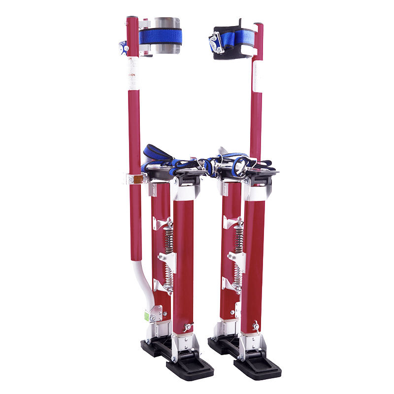 "drywall stilts 18"" to 30"" adjustment tool for construction long ladder"