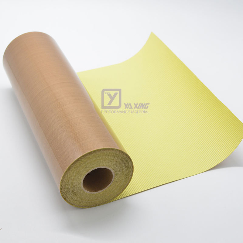 PTFE Coated Fiberglass Double Side High Temperature Adhesive Tape