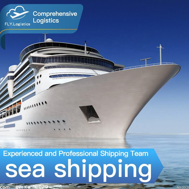 FLY International Logistics Companies Sea Shipping Rates from China to USA Door to Door