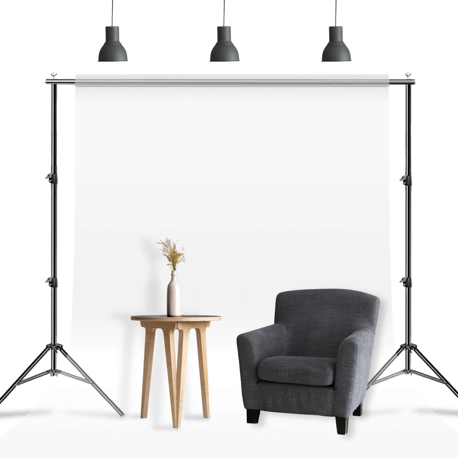 heavy duty photo studio backdrop stand background support stand photography for wedding and photo