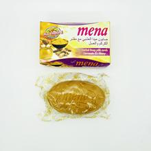 mena turmeric and honey herbal plus vitamin E mena beaury soap for acne skin