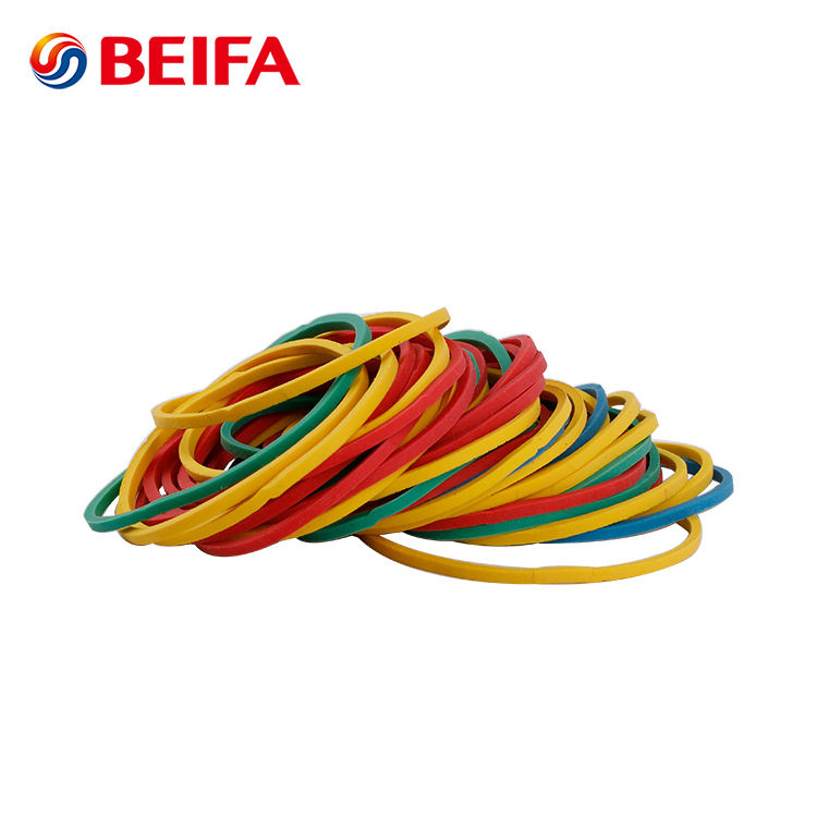 Colorful Natural Elastic Rubber Bands For Packing