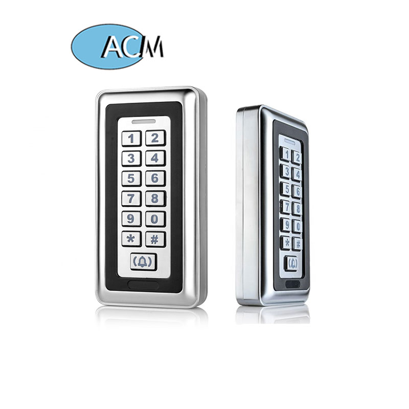 Standalone Metal Access Control System IP67 Waterproof Keypad Door RFID Access controller