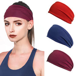Cycling Yoga Sport Sweat Headband Men Sweatband For Men and Women Yoga Hair Bands Head Sweat Bands Sports Safety