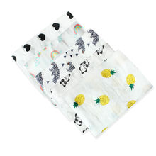 100% cotton muslin blanket for newborn baby and infant