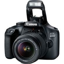 CANON EOS 4000D DSLR Camera with EF-S 18-55MM F3.5-5.6 III Lens (Canon EOS Rebel T100)
