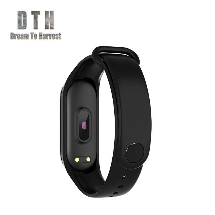 factory watch band CE ROHS smart bracelet bright light Pedometer fitness tracker rubber band M4