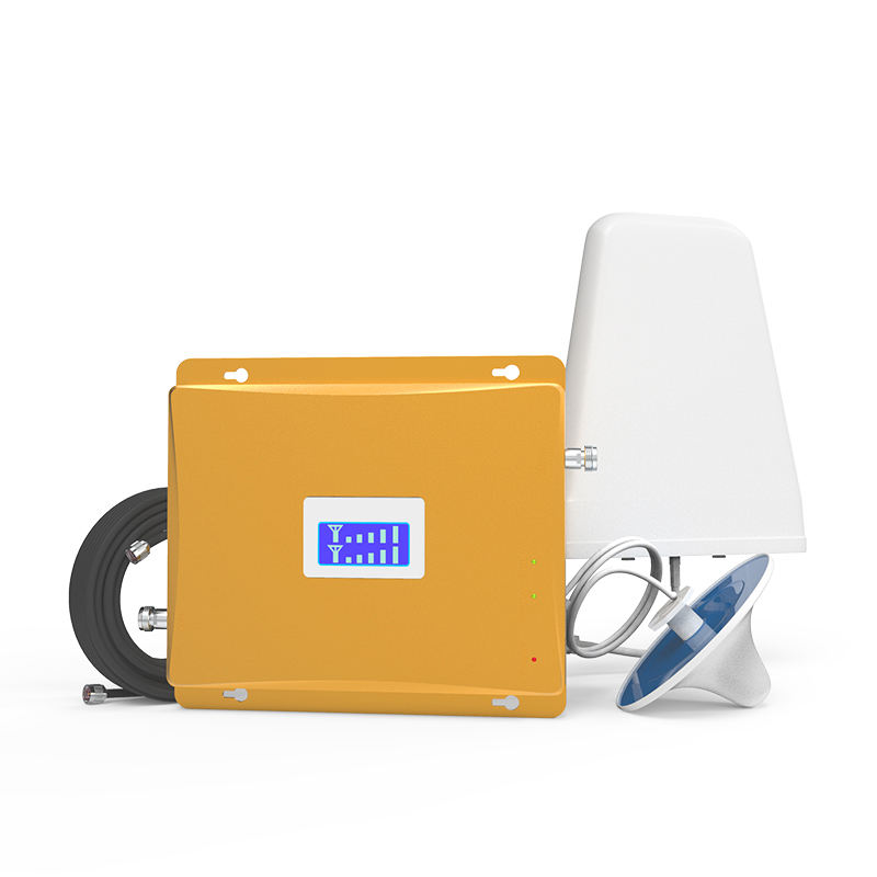 Lintratek Full Set Dual Band 850/1700 M Hz CDMA AWS 2G 3G 4G Signal Booster/repeater/Amplifier untuk Kolombia/Meksiko/Peru/Chili