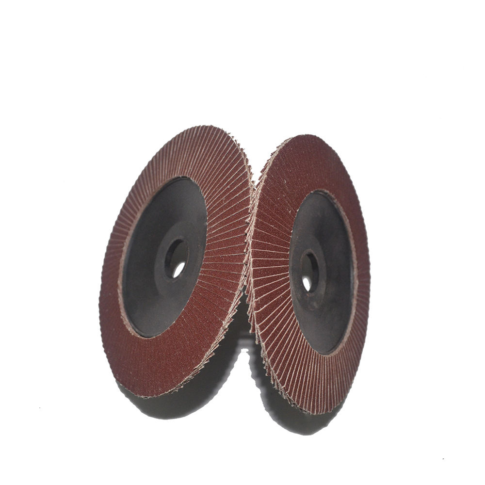 Buffing Flap Wheel / Emery Paper Flap Wheel / Flap Disc 240 Grit aluminium oxide