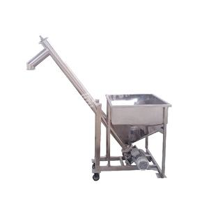 China Particle Powder Conveying Food Auger Screw Conveyor Elevator