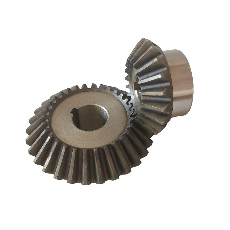45C steel 2m 20T and 30T bevel gear manufacture