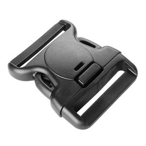 plastic side release buckle with lock for army
