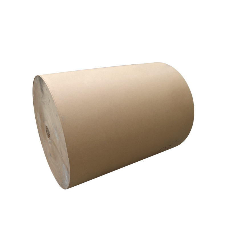 Food Grade Jumbo Mother Roll Custom Printed Brown Kraft Paper Roll