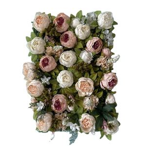 FC1001 Factory direct sale cheap artificial flower wall for wedding decoration