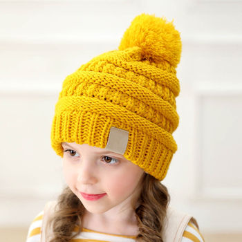 Winter Hat Woolen Beanie Raw Wool Hat  T544 Hand Knitted Hat Slouchy Hat Yellow Wool Hat Chunky Hat Woolen Hat Itchy Wool Balaclava