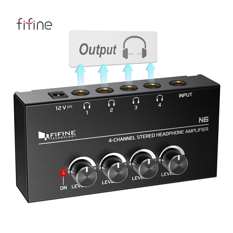 Fifine Brand cheap headphone amplifier best portable headphone amp for sale