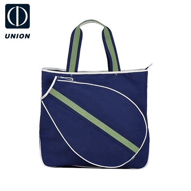 Custom logo Canvas Tennis Tote gym sport bag Wholesale Outdoors Tennis Racket Bag Tennis bag