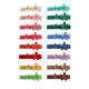 2020 New Cherry Blossom hairpin 16 colors candy color lovely girl sakura flower alligator Korea hair clips hair accessories