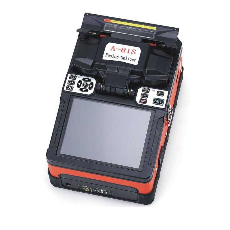 heating time can be set A-81S Fiber Optic Fusion Splicer Fully automatic Optical fiber welding machine