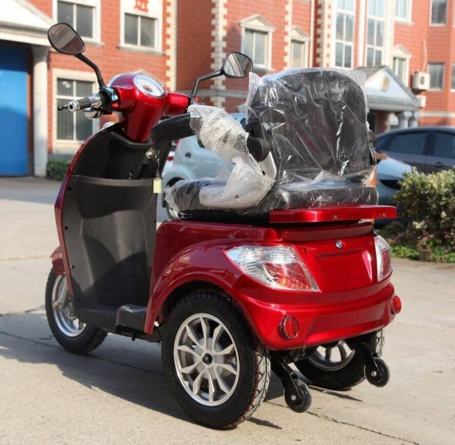 quality cargo electric passenger tricycle 48V 500W high performance